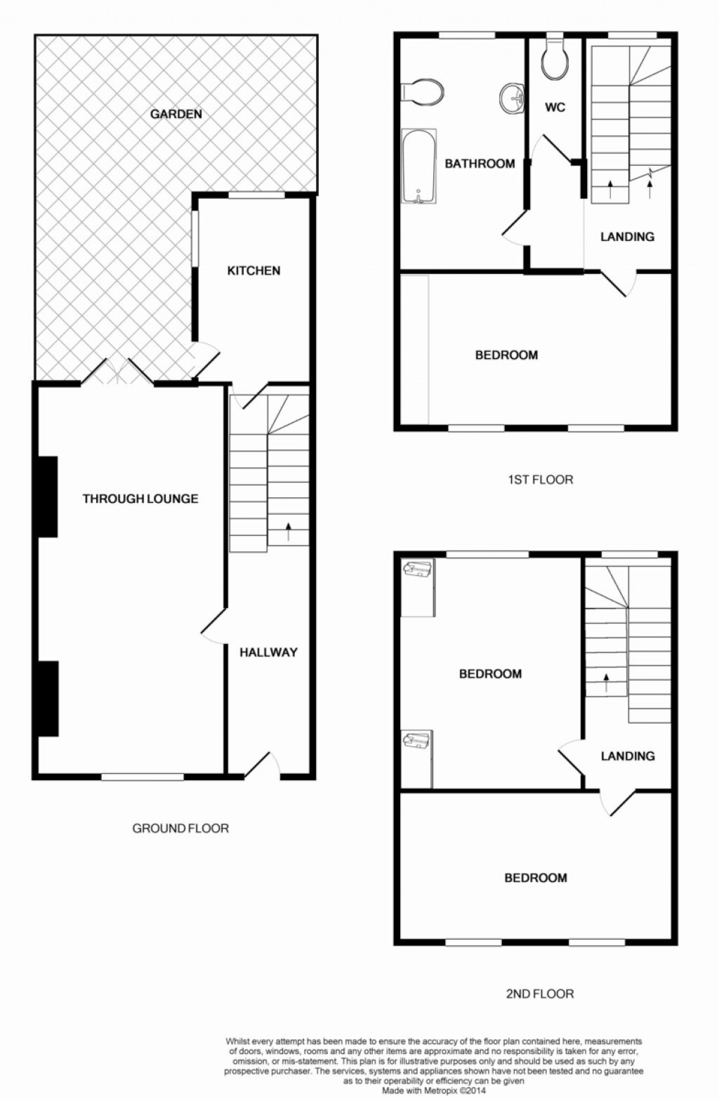 Floorplans For Axminster Road, LONDON