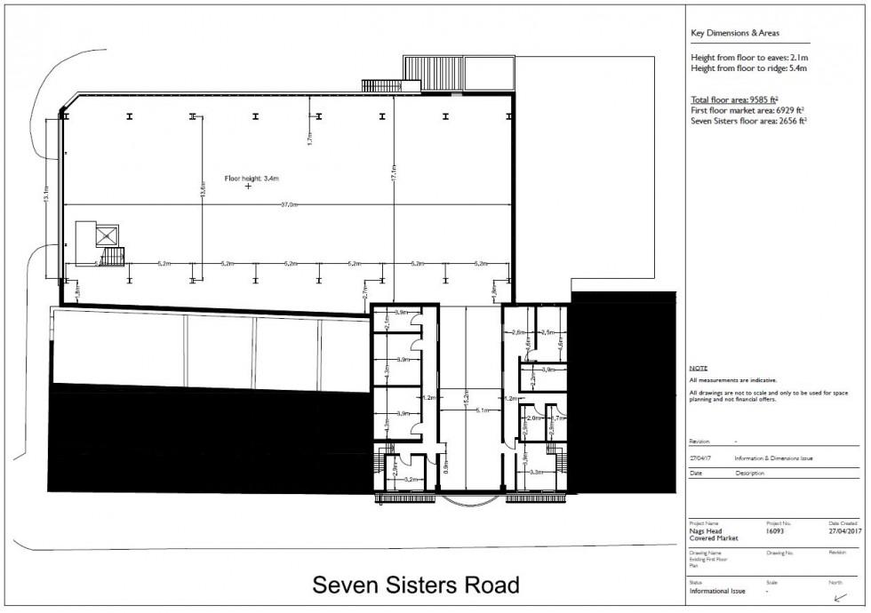Floorplan for Seven Sisters Road