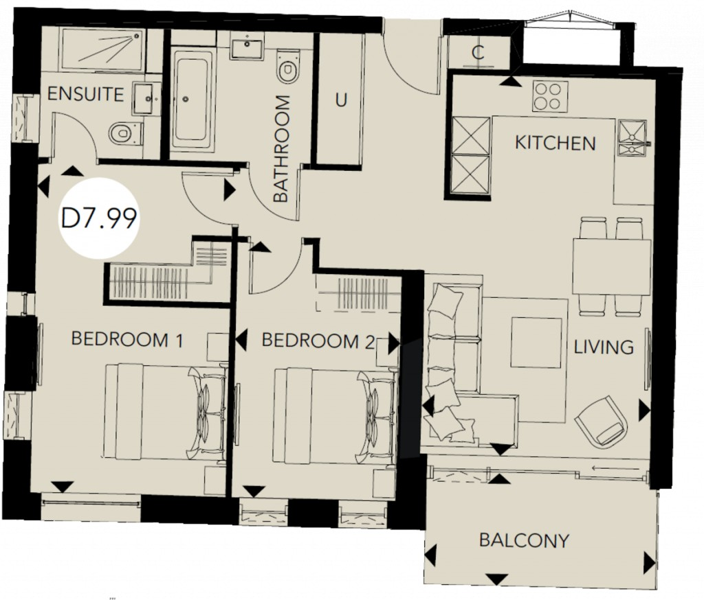 Floorplans For The Nature Collection, Woodberry Down