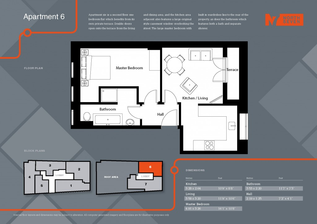 Floorplans For Parkhurst Road, London