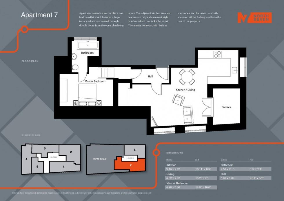Floorplan for Parkhurst Road, London