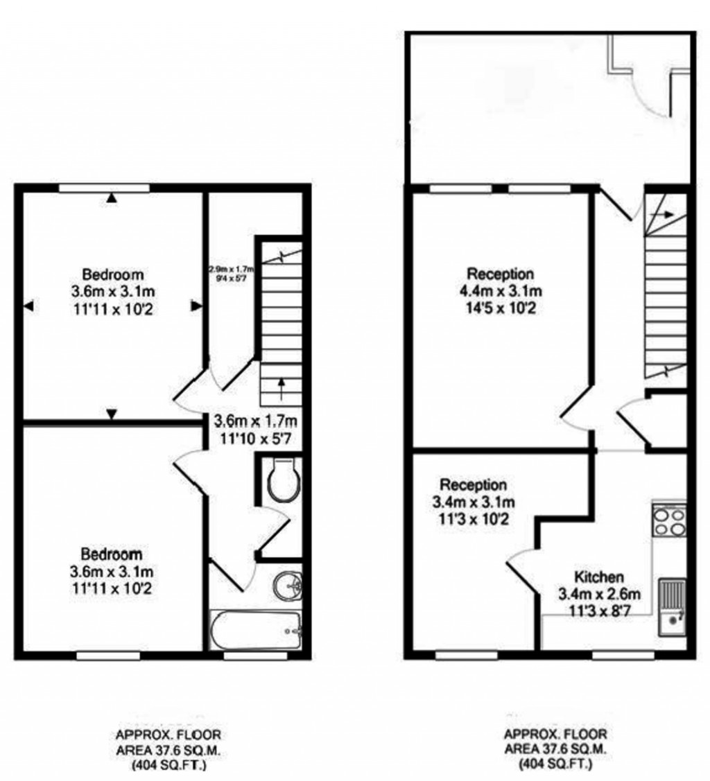 Floorplans For Islington, London