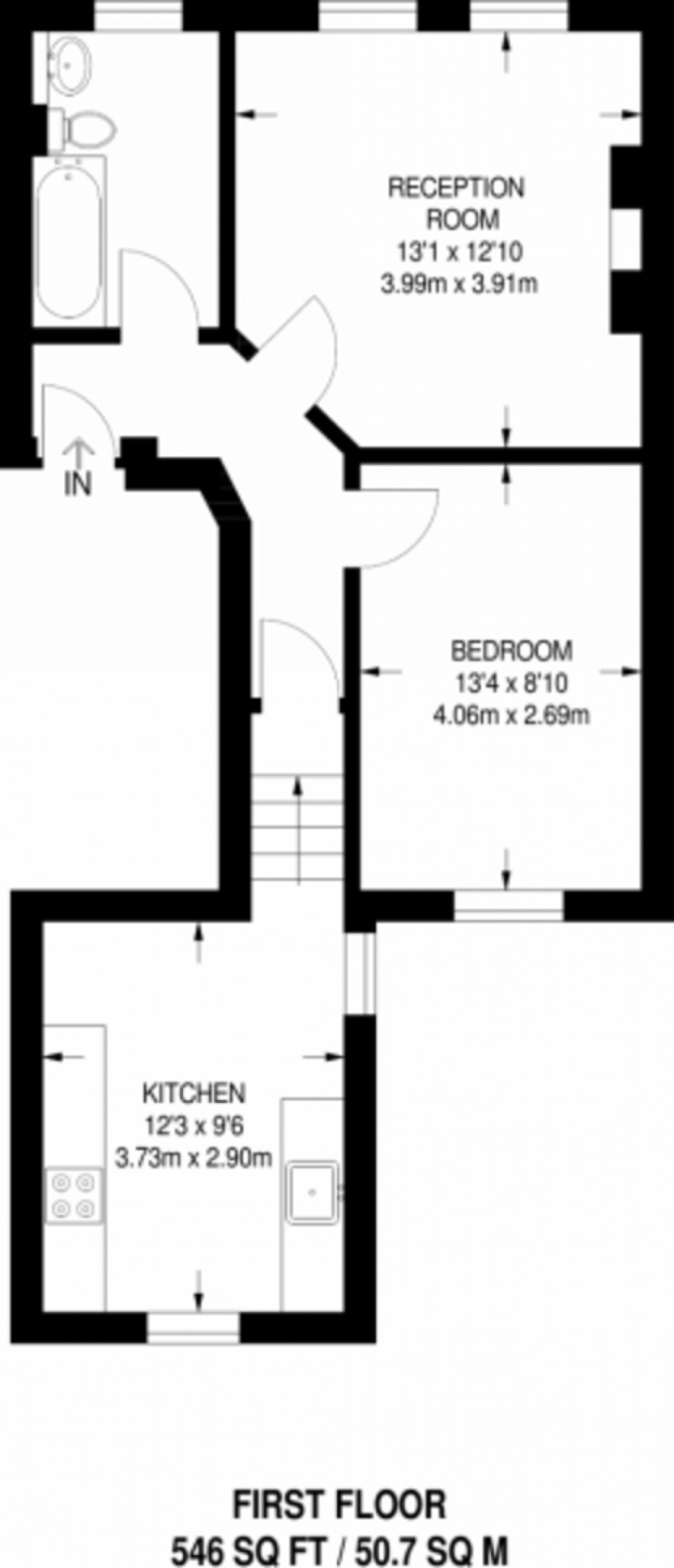Floorplan for Hartham Road, Islington