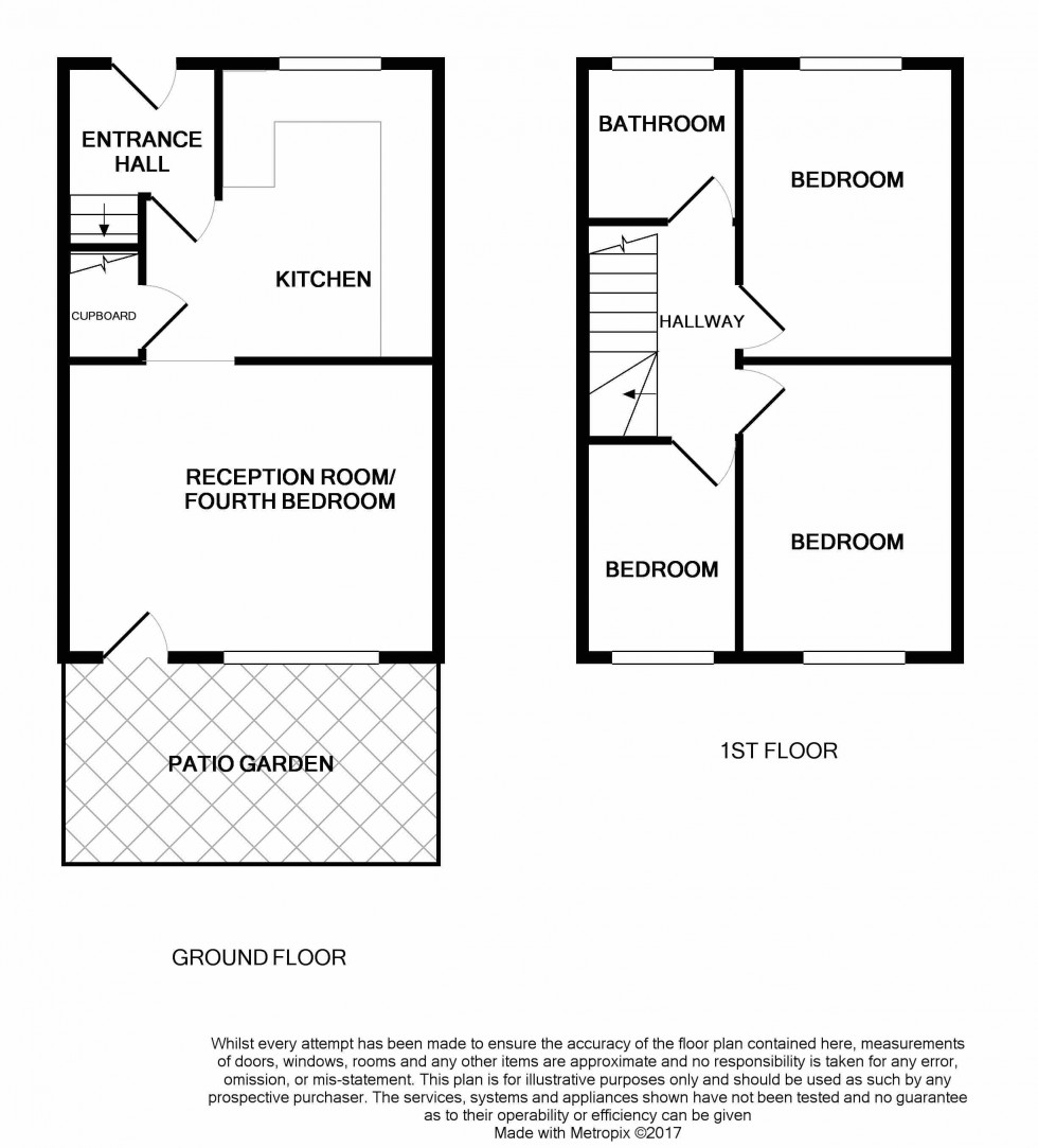 Floorplan for Mitford Road, Archway, London