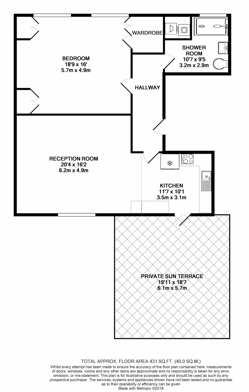 Floorplans For Seven Sisters Road, London