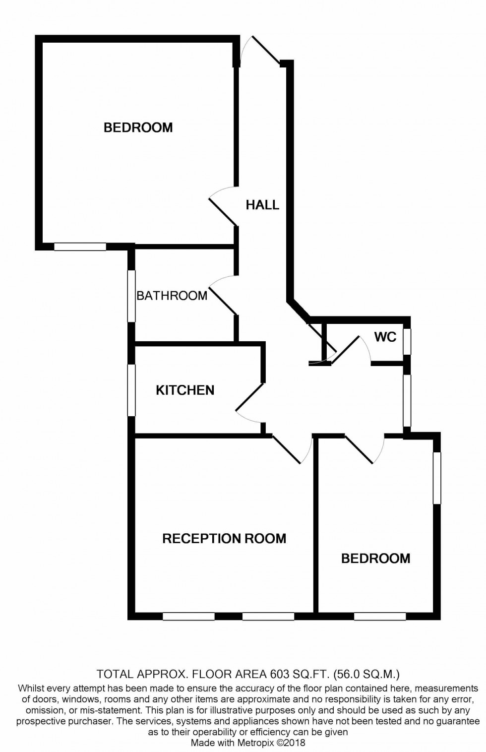 Floorplan for Anson Road, Tufnell Park, London