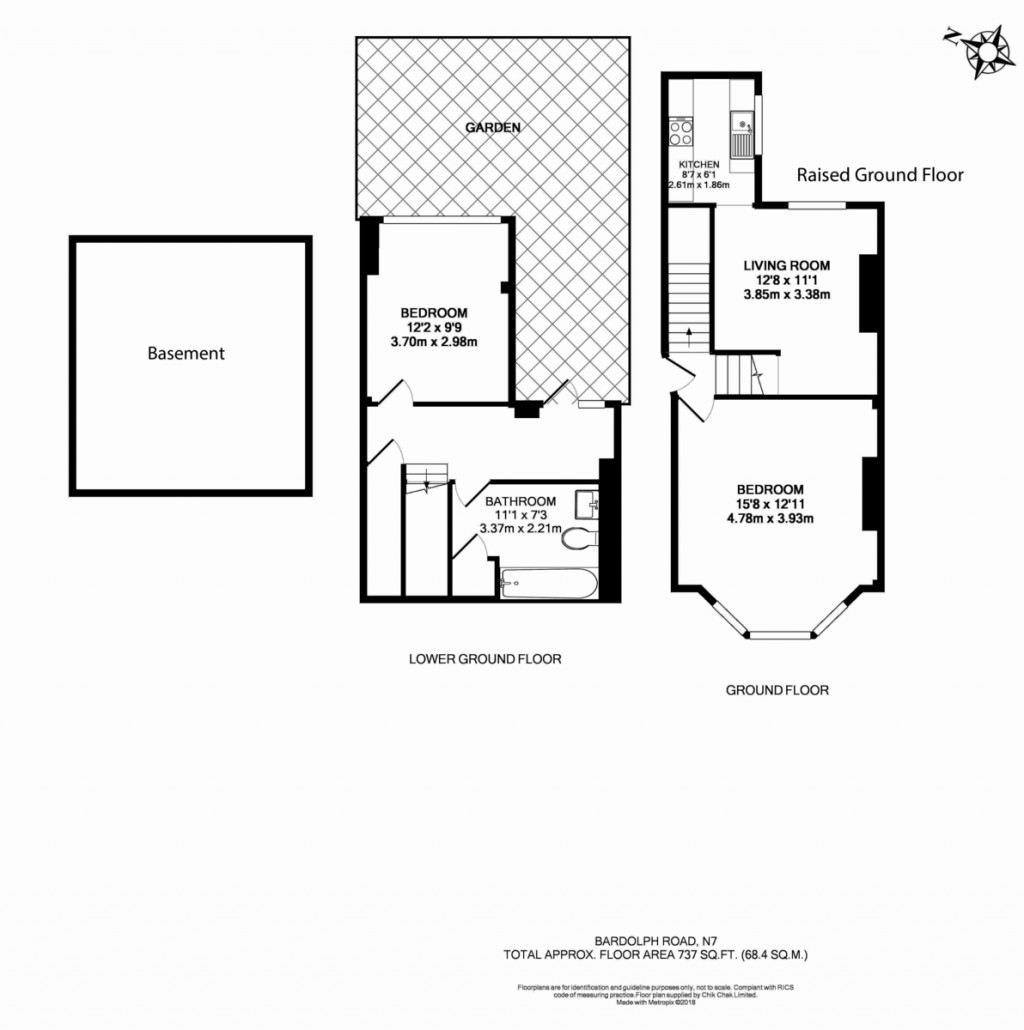 Floorplans For Bardolph Road, London