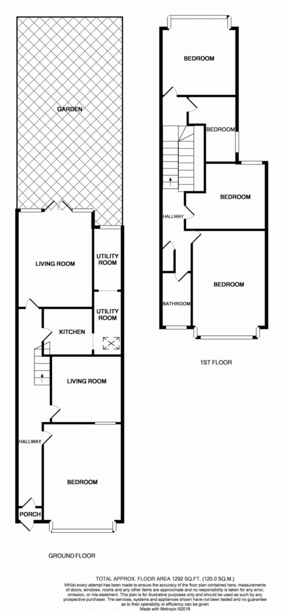 Floorplan for Boreham Road, London