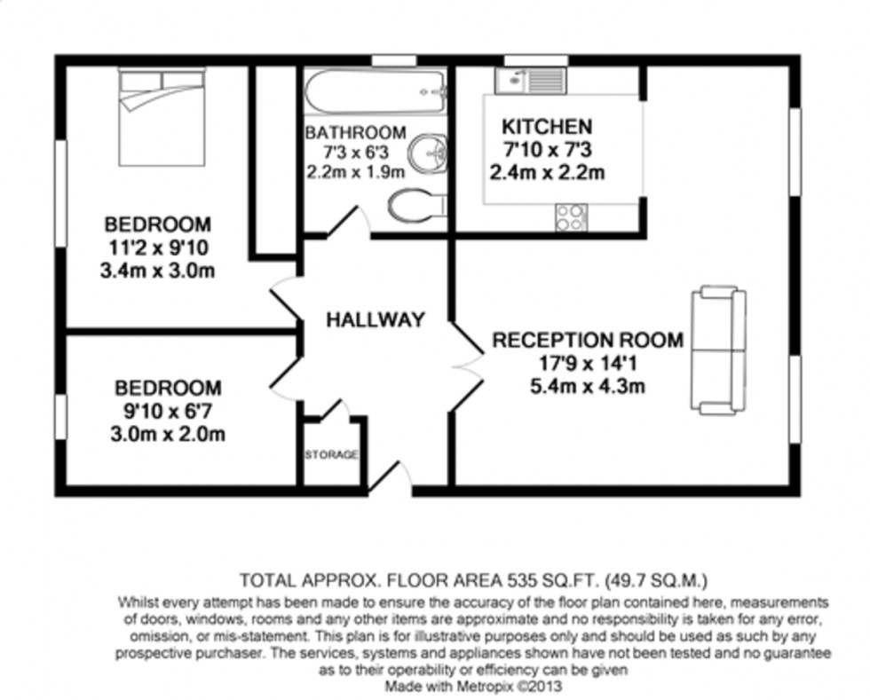 Floorplan for Holloway, London