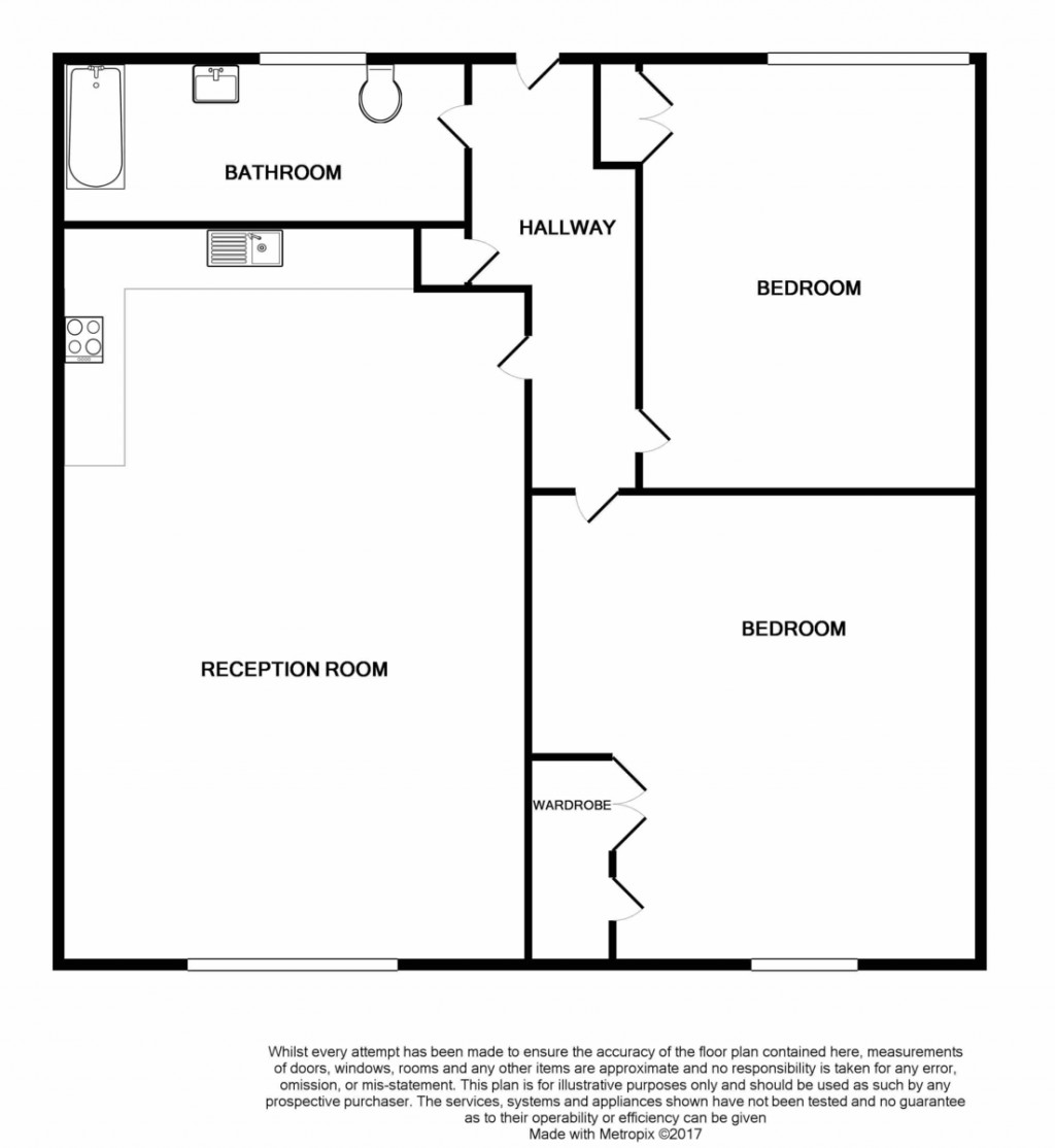 Floorplans For Sussex Way, Islington, London
