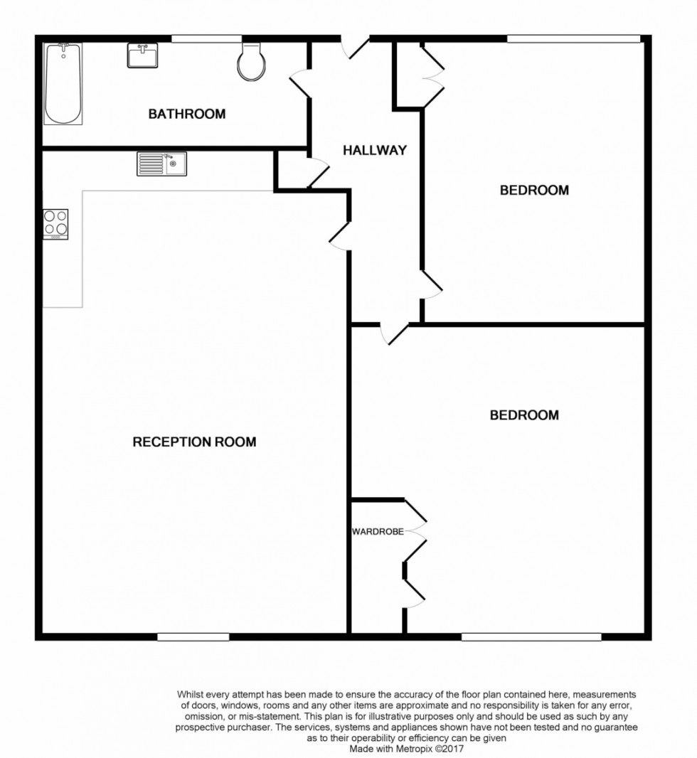 Floorplan for Sussex Way, Islington, London
