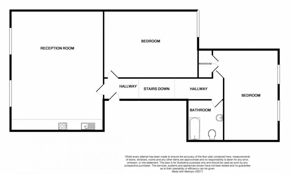 Floorplan for Hornsey Road, Islington, London