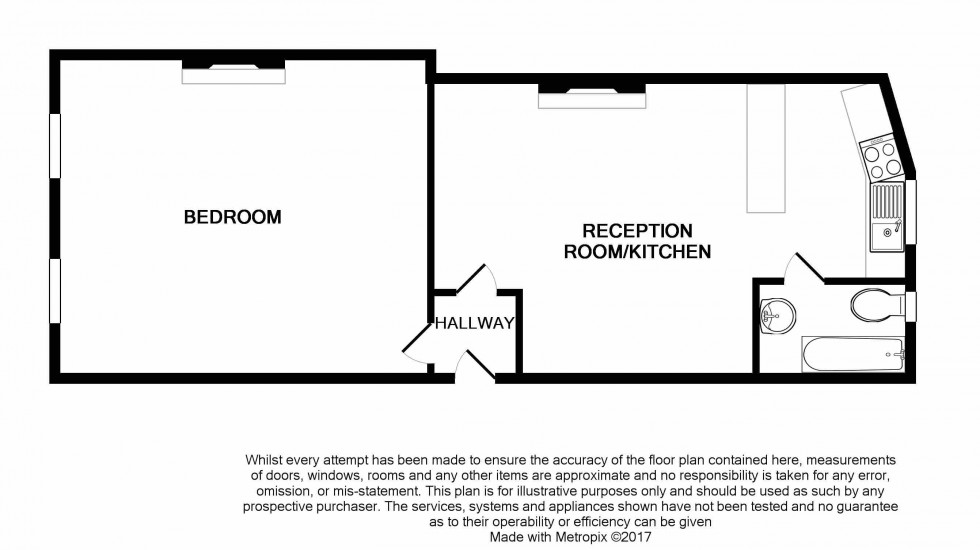 Floorplan for Clapton, London