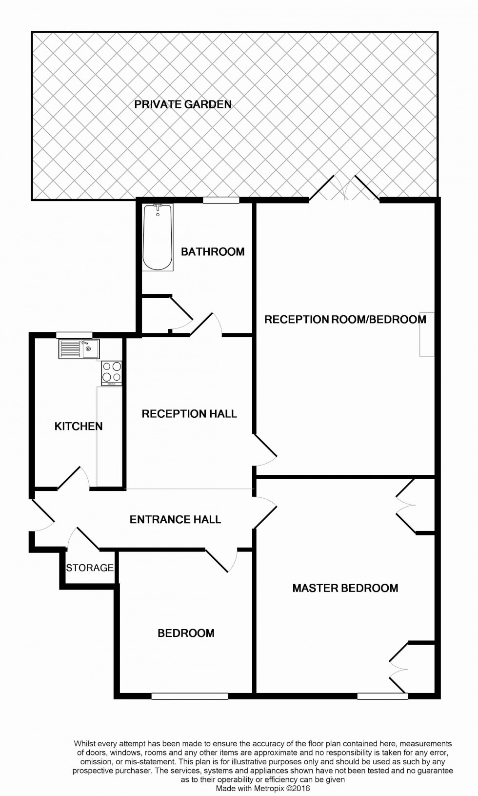 Floorplan for Islington, London