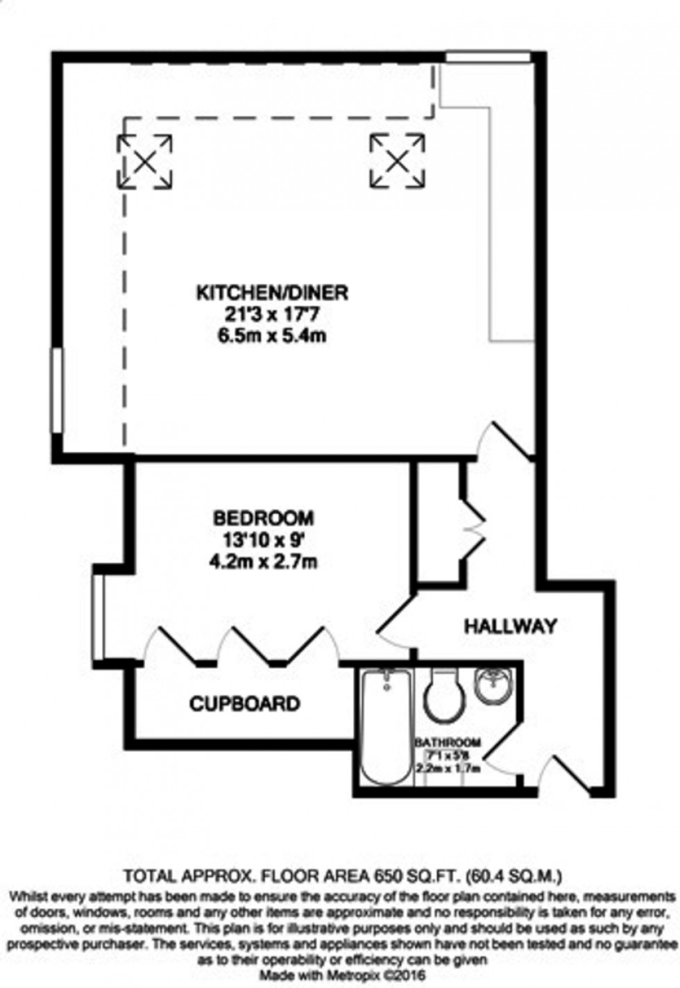 Floorplan for Woodside Park, London