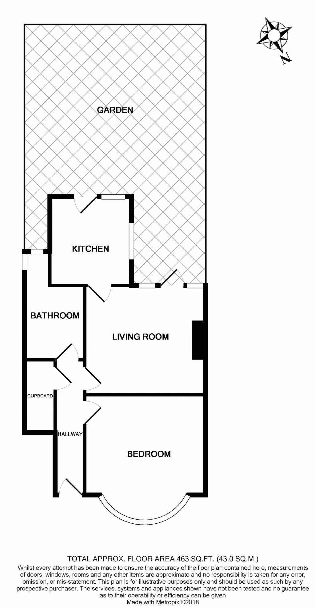 Floorplans For Warlters Close, Islington, London