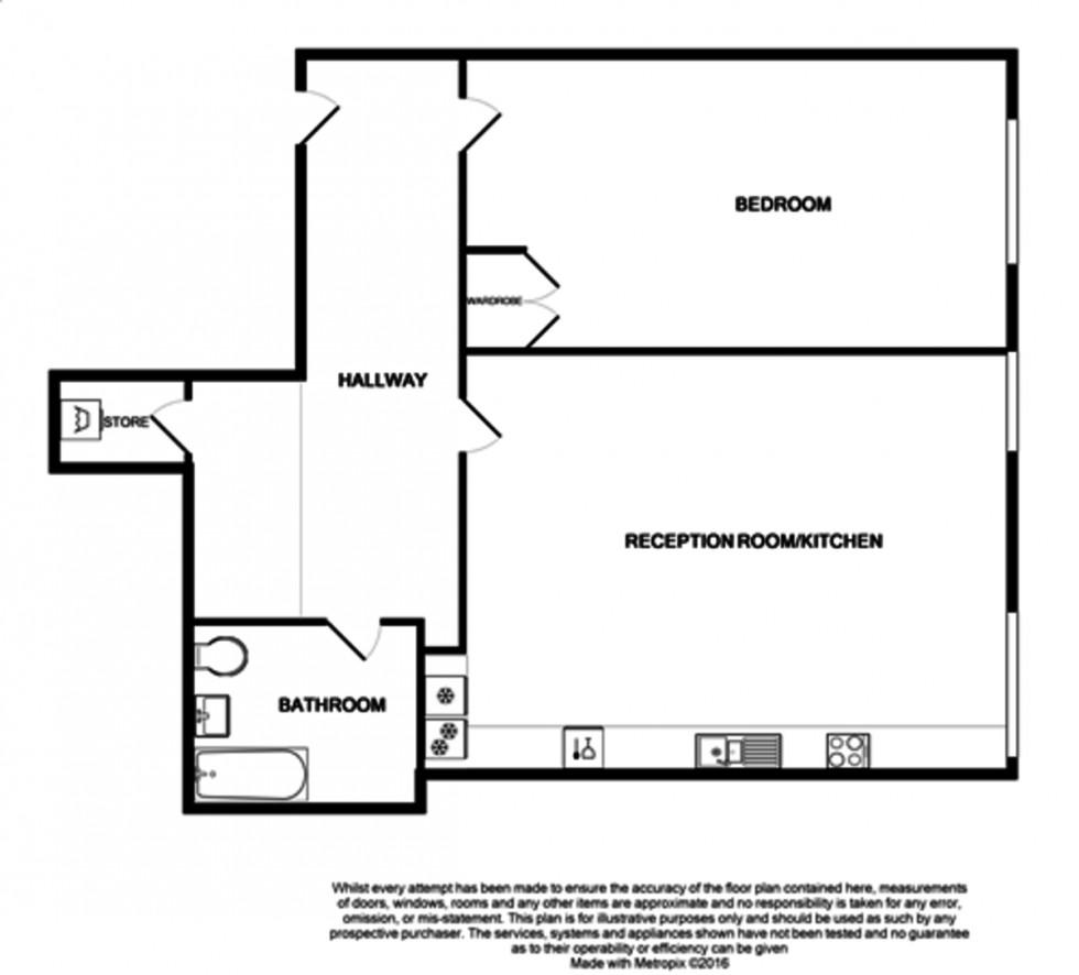 Floorplan for Holloway, London
