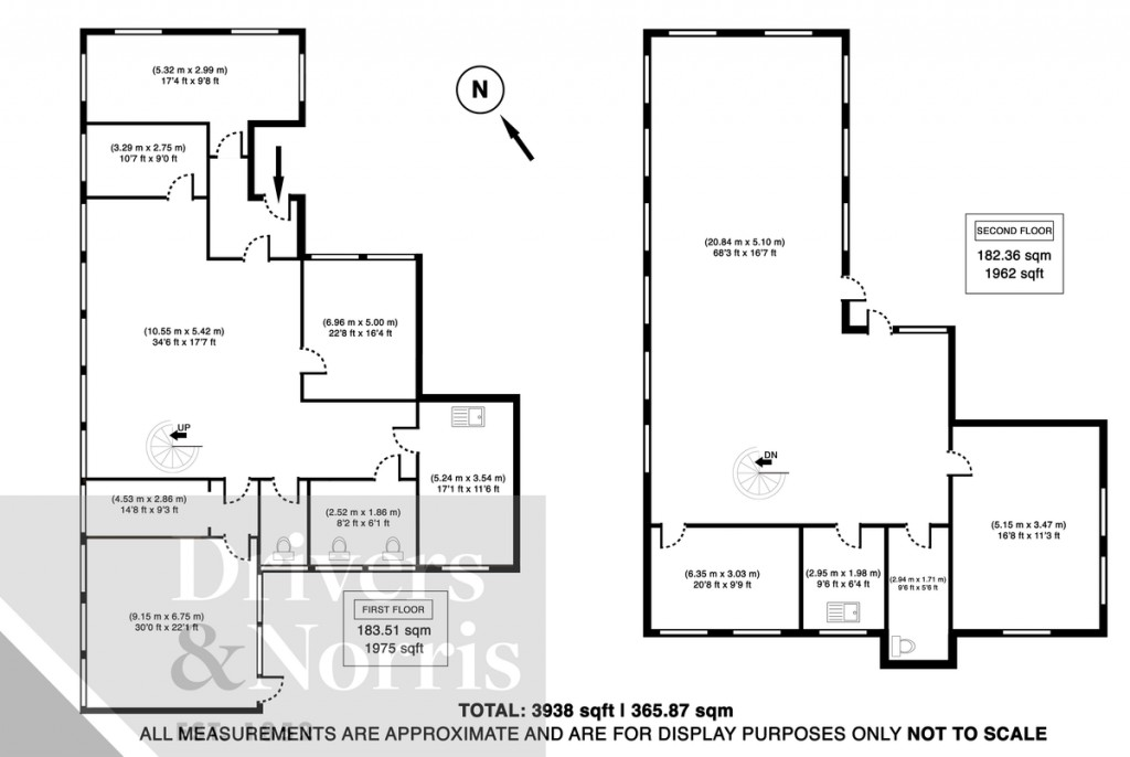 Floorplans For Finsbury Park, Islington