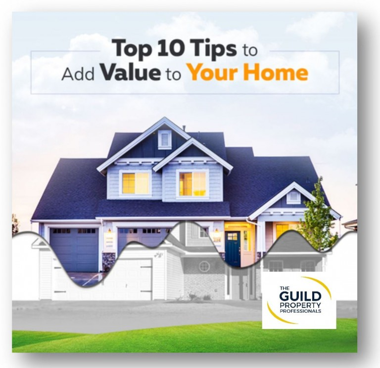Top 10 ways of adding value to your home