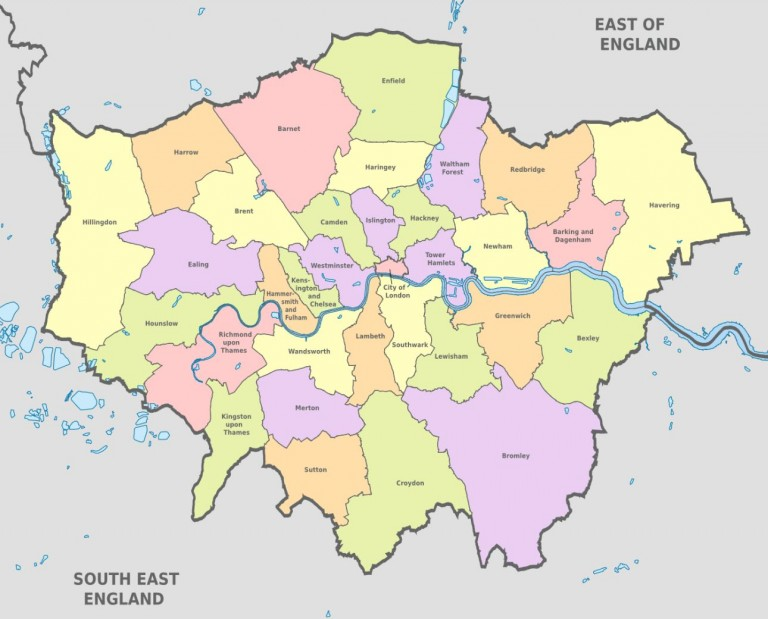 Where are the top London boroughs for FTBs?