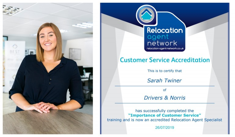 RELOCATION AGENT SPECIALIST JOINS DRIVERS & NORRIS