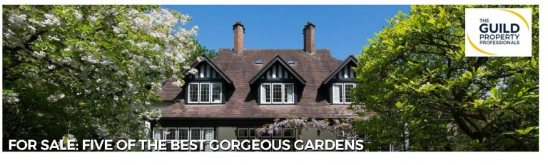 For sale: Five of the best gorgeous gardens